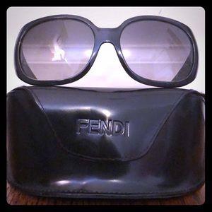 Fendi sunglasses barely worn with case